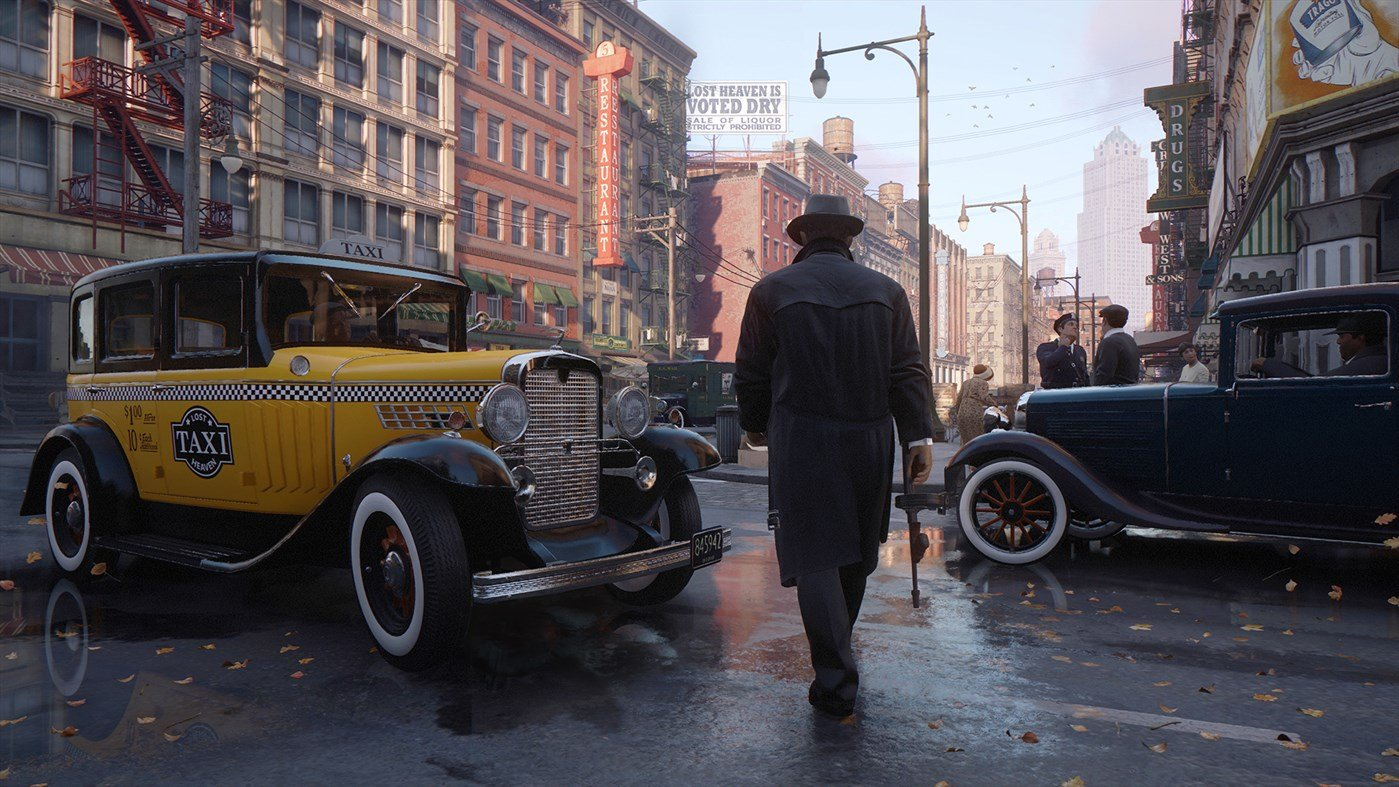 Mafia 2 definitive edition gameplay leaks online