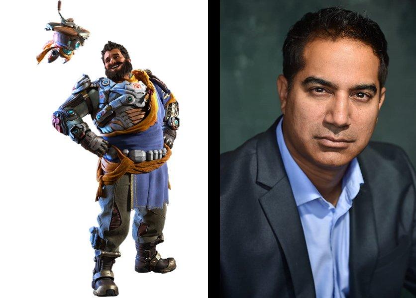 Crucible Rahi is voiced by Kamal Khan