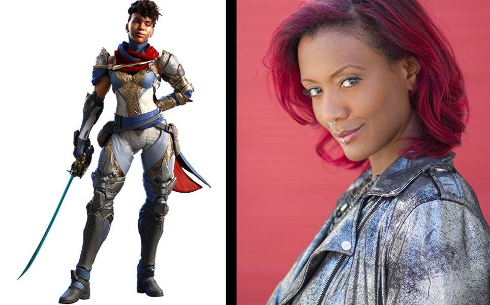 Crucible shakirri is voiced by Mara Junot