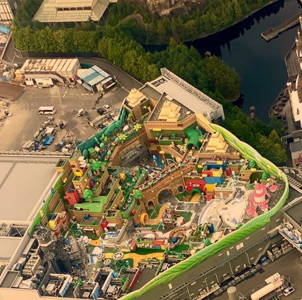 Super Nintendo World theme park Japan Osaka