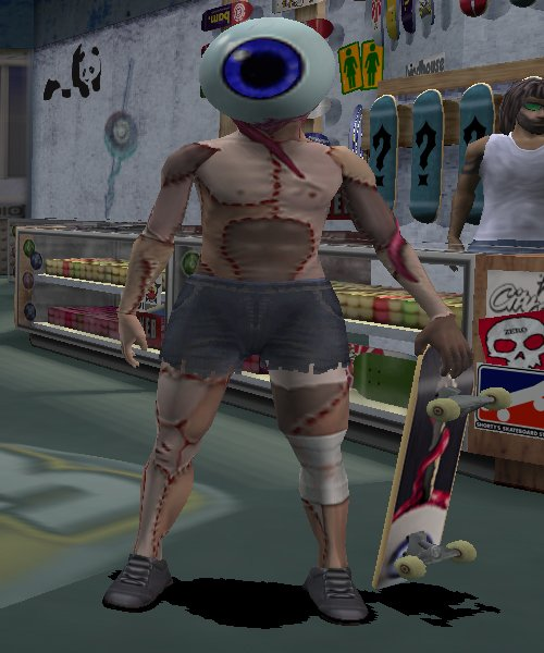 Tony Hawk Pro Skater 1+2 secret characters neversoft eyeball
