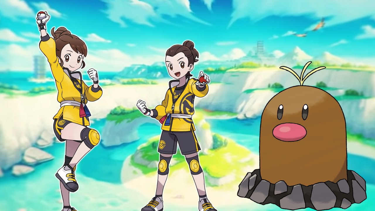 All diglett rewards in isle of armor pokemon sword and shield
