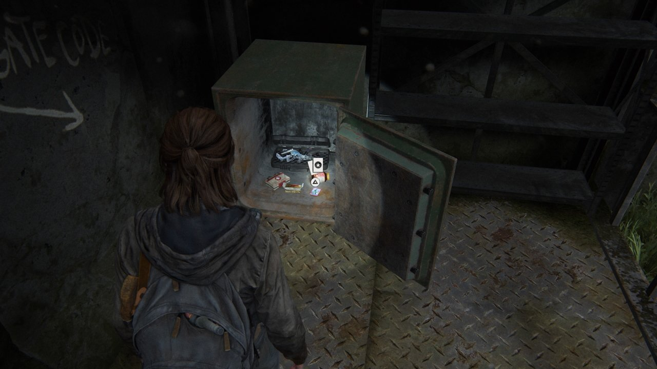 All safe code solutions in the last of us part 2