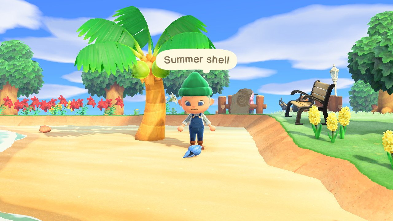 All summer shell recipes in animal crossing new horizons how to get summer shells