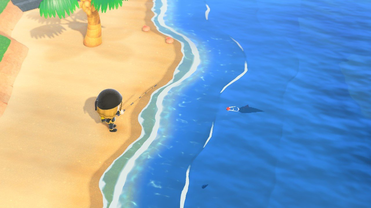 How to catch a Great White Shark in Animal Crossing: New Horizons