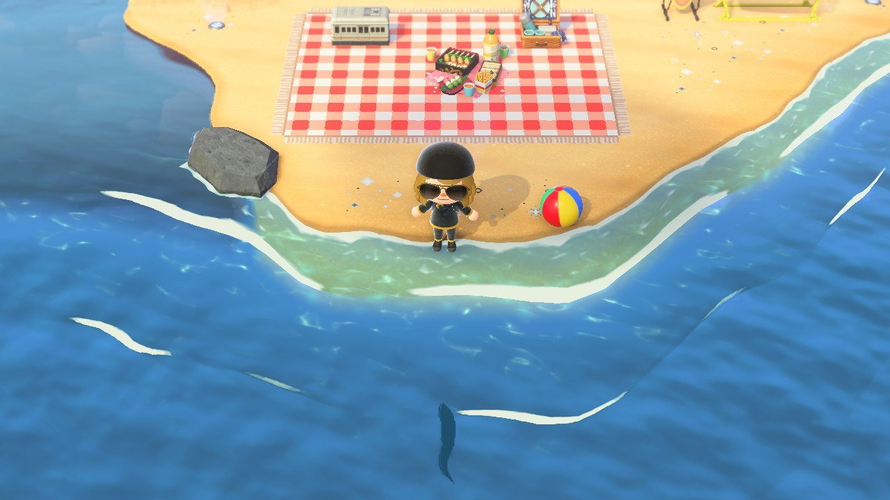 How to catch a Ribbon Eel in Animal Crossing: New Horizons