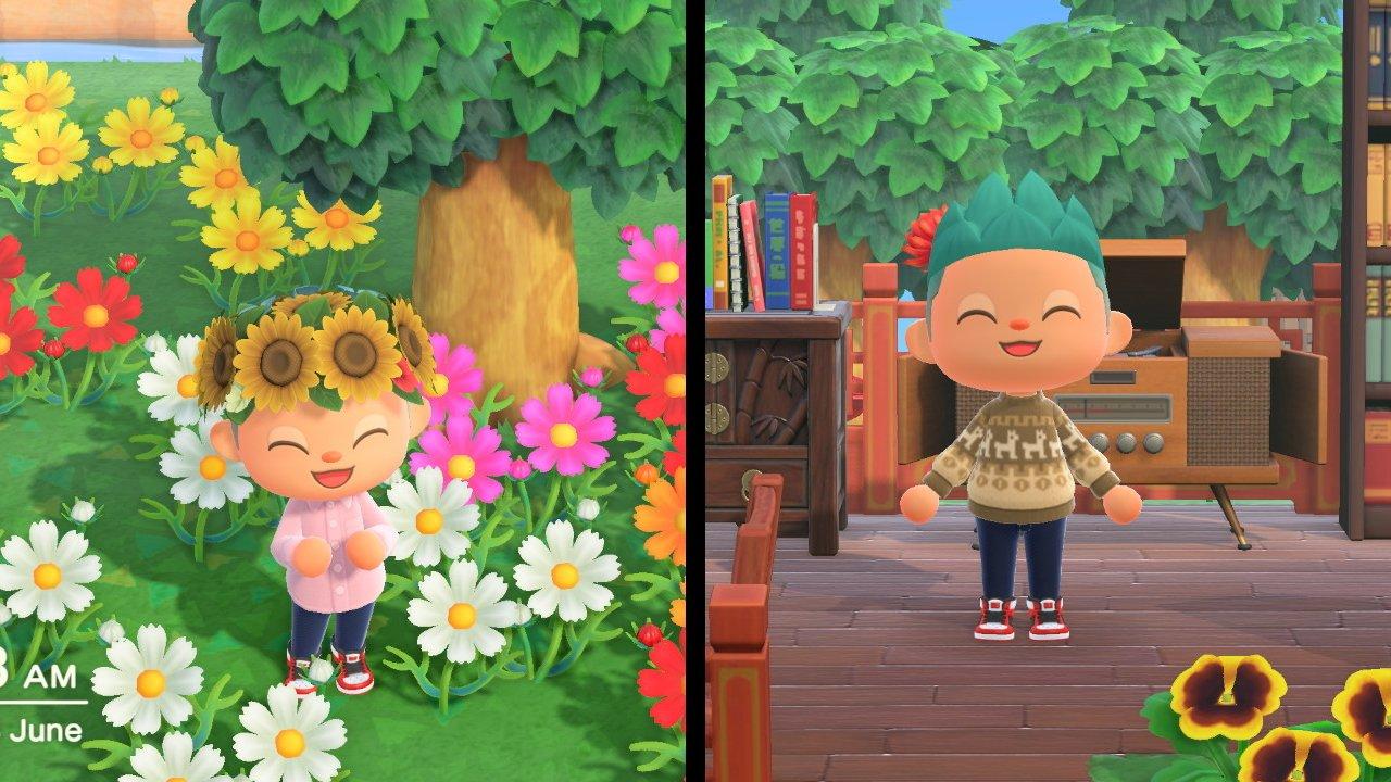 Animal Crossing New Horizons summer solstice winter solstice seasonal items