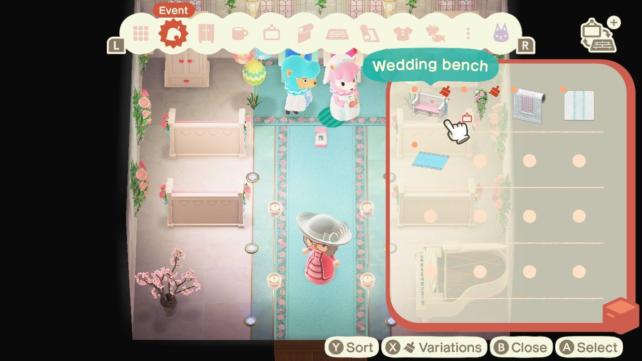 Decorate the room using event items and your own items to take the photos Cyrus and Reese want in Animal Crossing: New Horizons.
