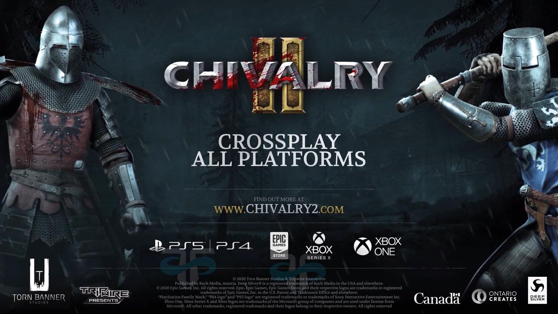 Chivalry 2 will be a cross-generation crossplay slashfest