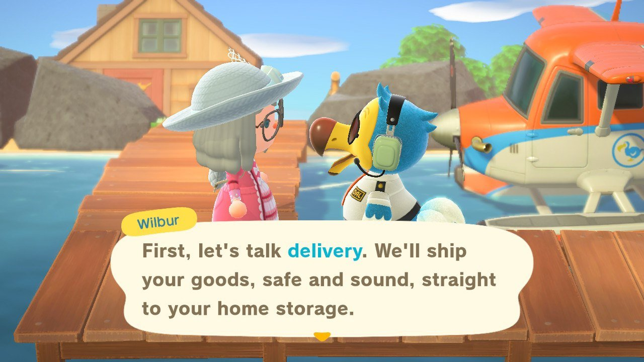 What are Liquidation and Delivery in Animal Crossing: New Horizons?