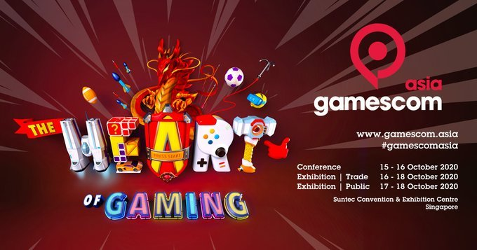 Gamescom asia delayed 2021