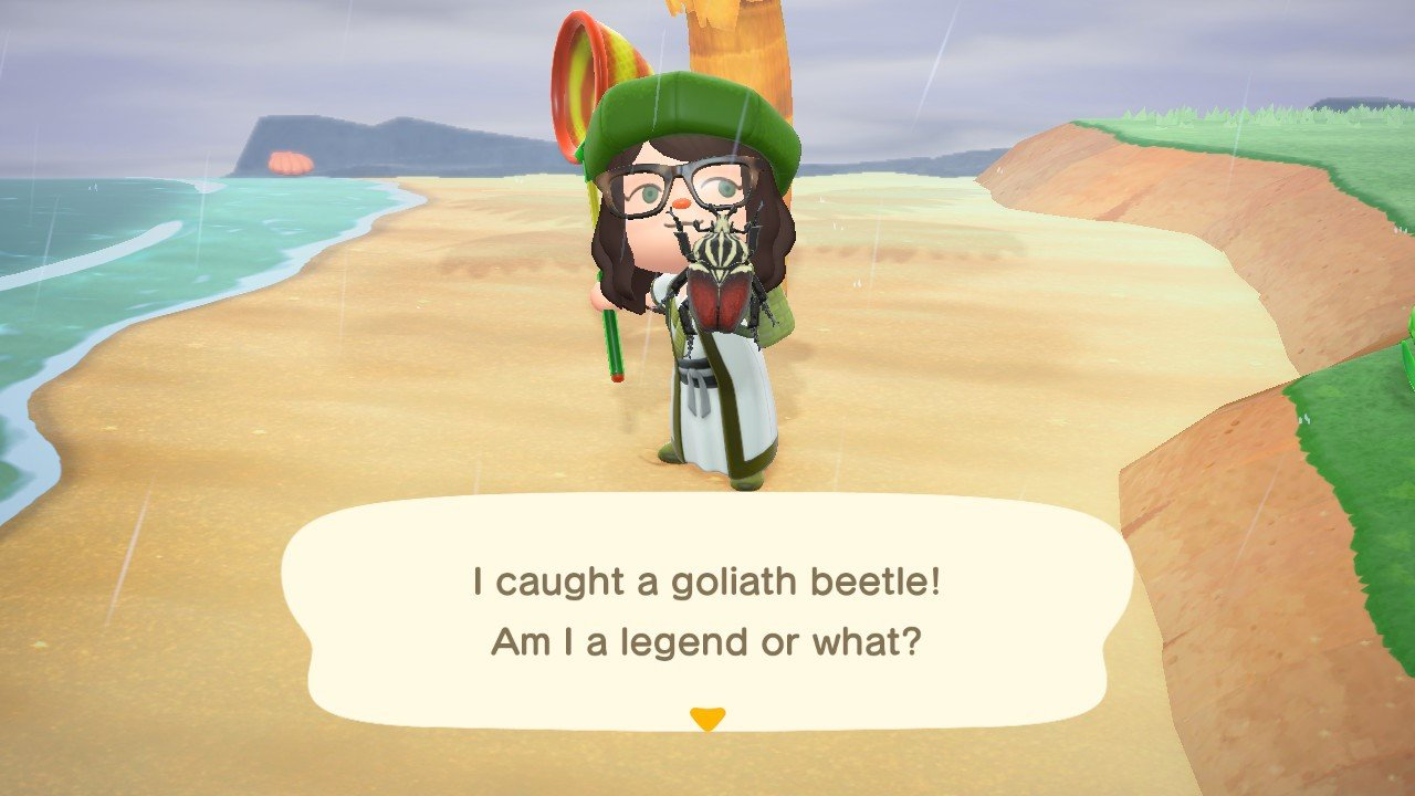 The Goliath Beetle sells for 8,000 Bells a piece in Animal Crossing: New Horizons.