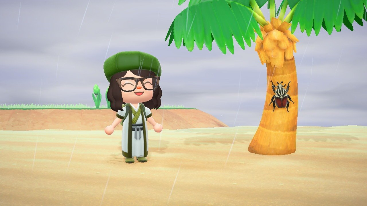 How to catch a Goliath Beetle in Animal Crossing: New Horizons