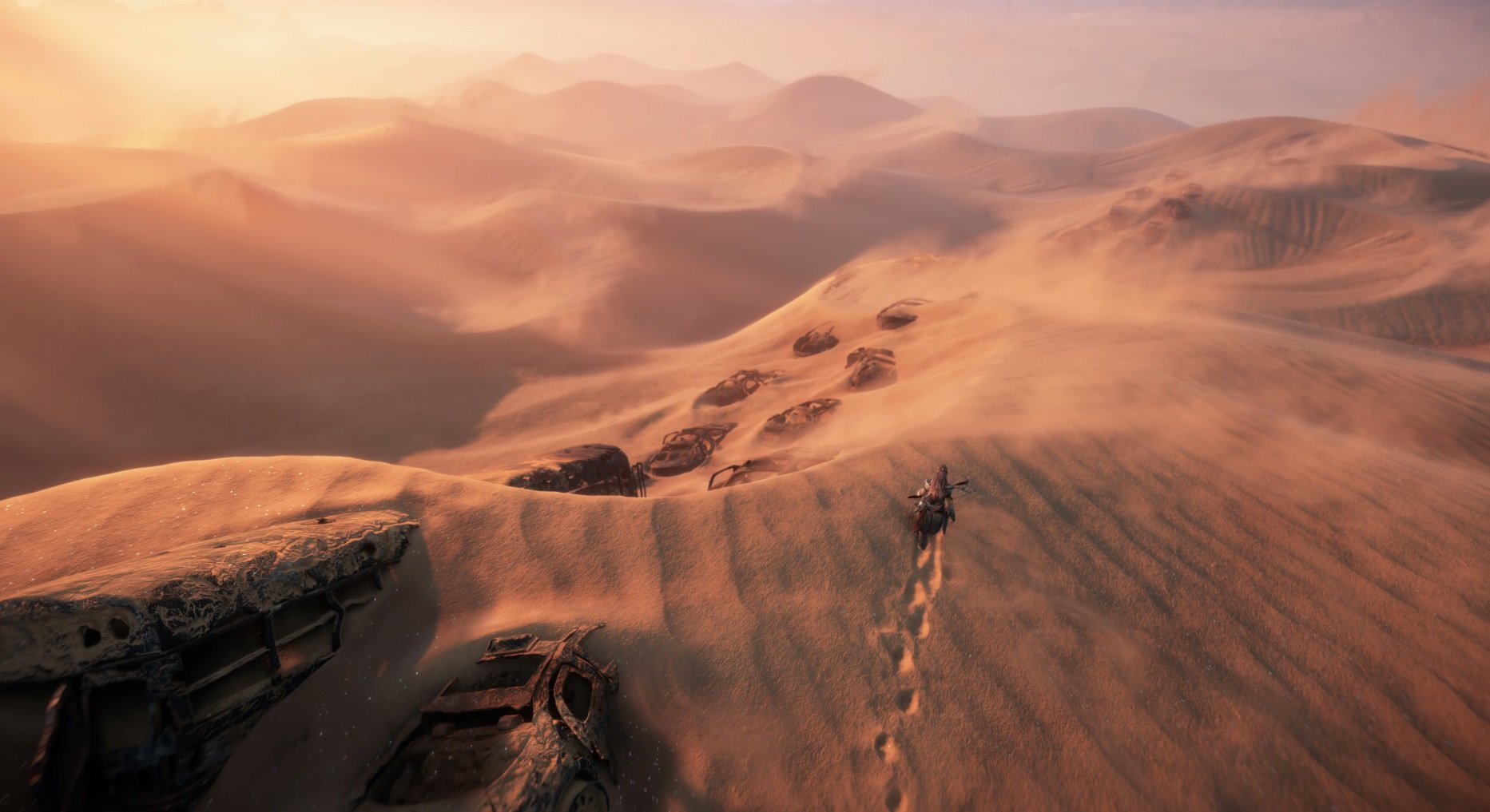 You'll get to explore a wide variety of landscapes in Horizon Forbidden West.