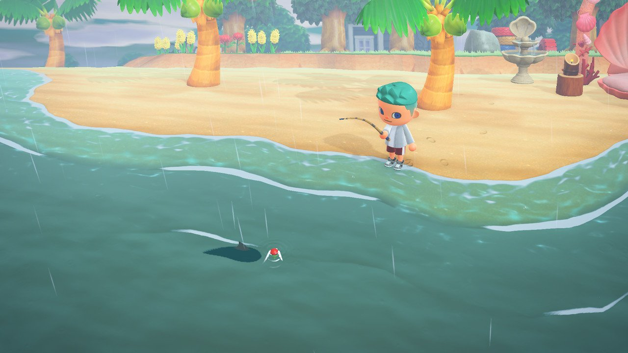 How to catch sharks in animal crossing new horizons