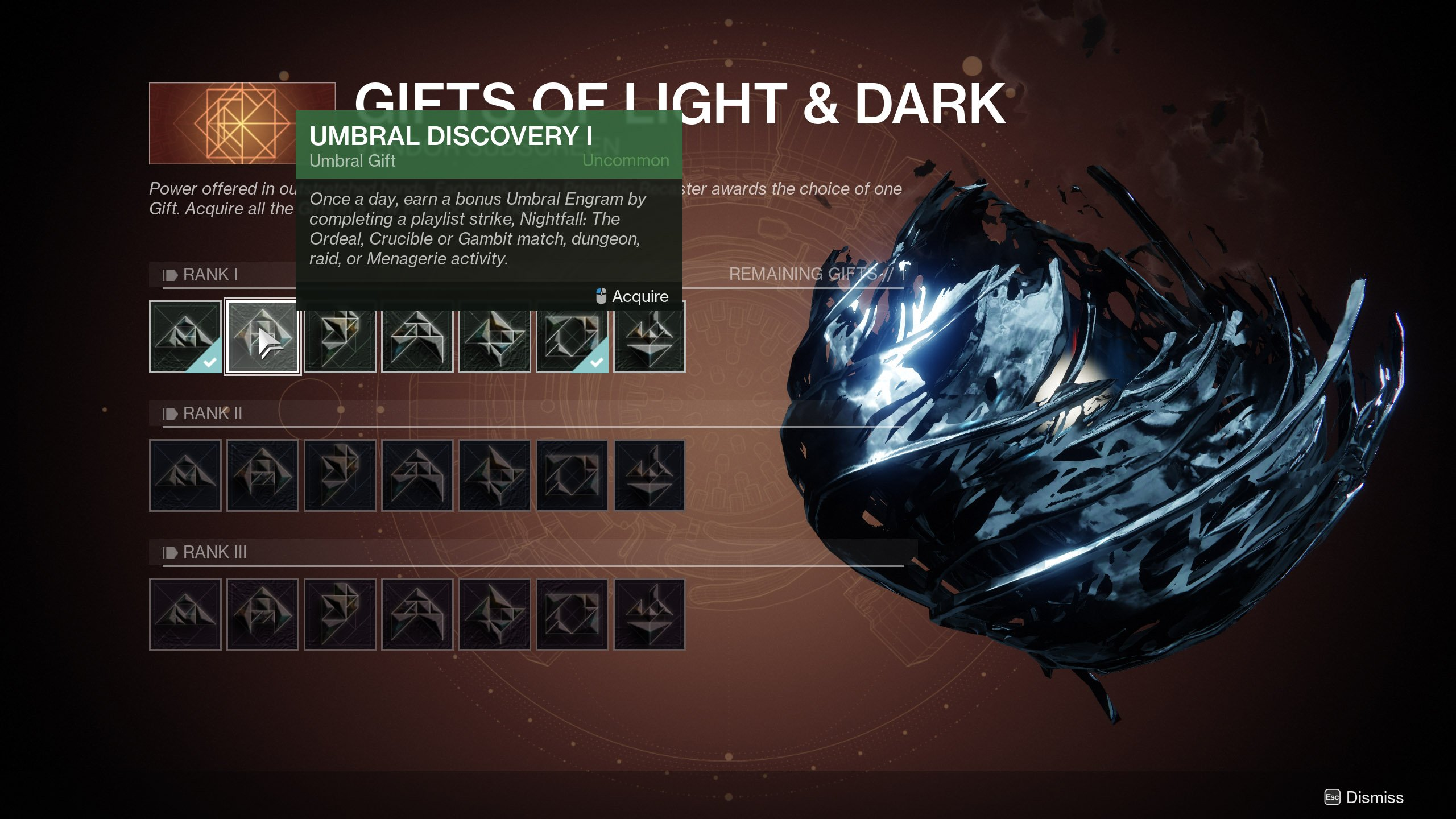 How to get Umbral Engrams in Destiny 2