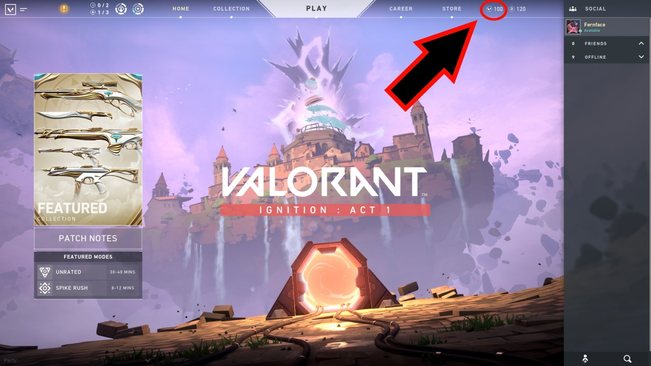 How to get Valorant Points in Valorant