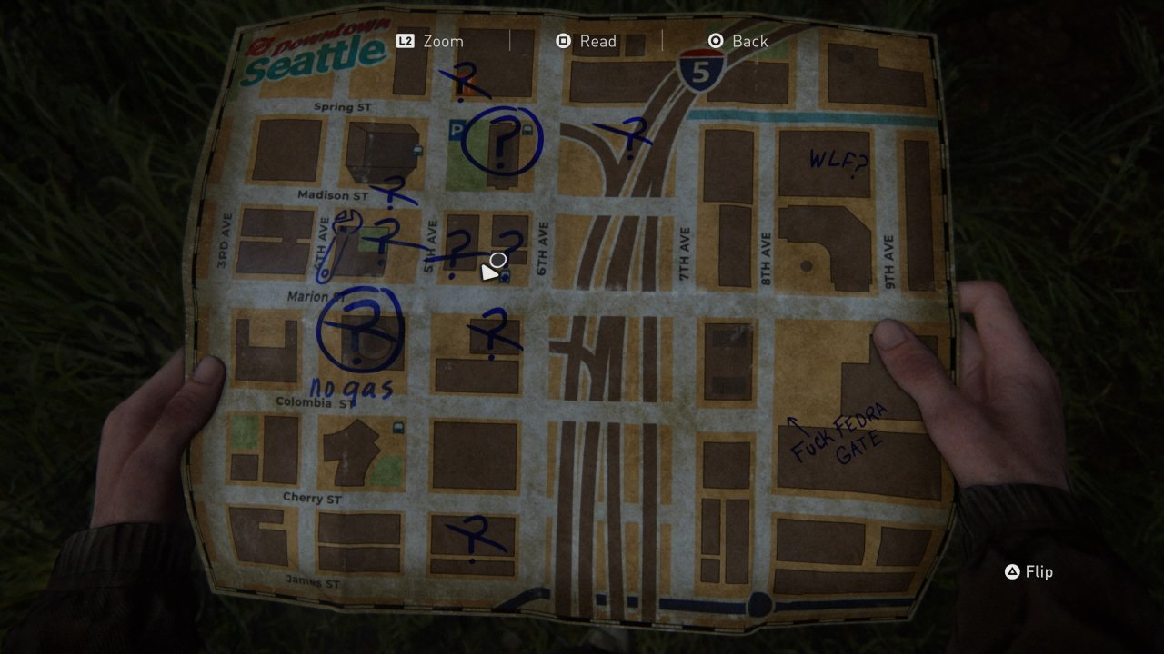 Long Gun Holster Location in The Last of Us Part 2