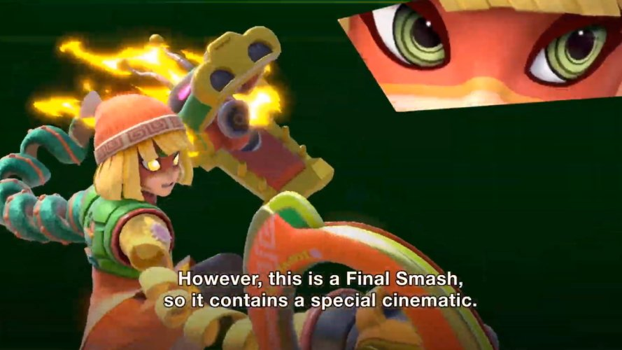 Smash ultimate Min Min final smash