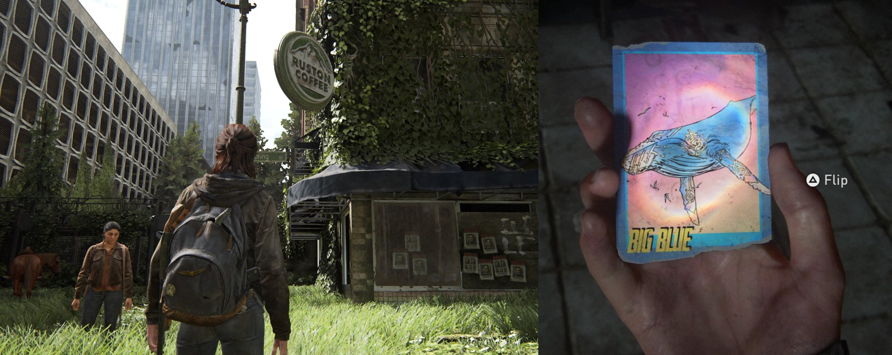 Trading Card 11 Big  Blue the last of us