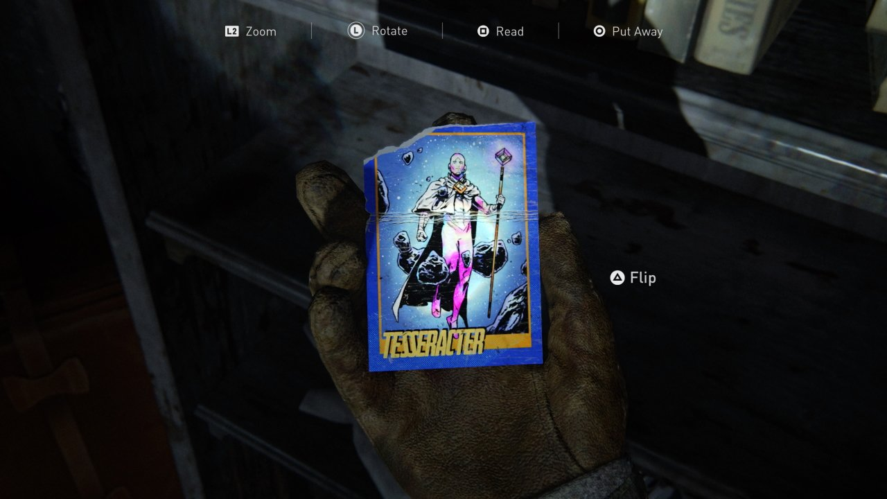 The last of us Part 2 trading card locations
