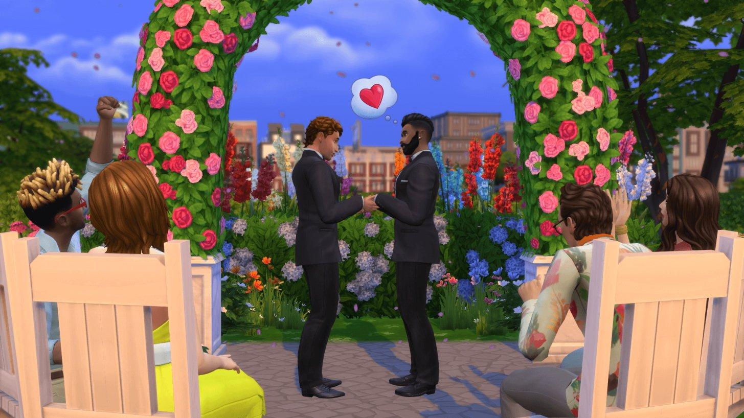 The Sims Pride event