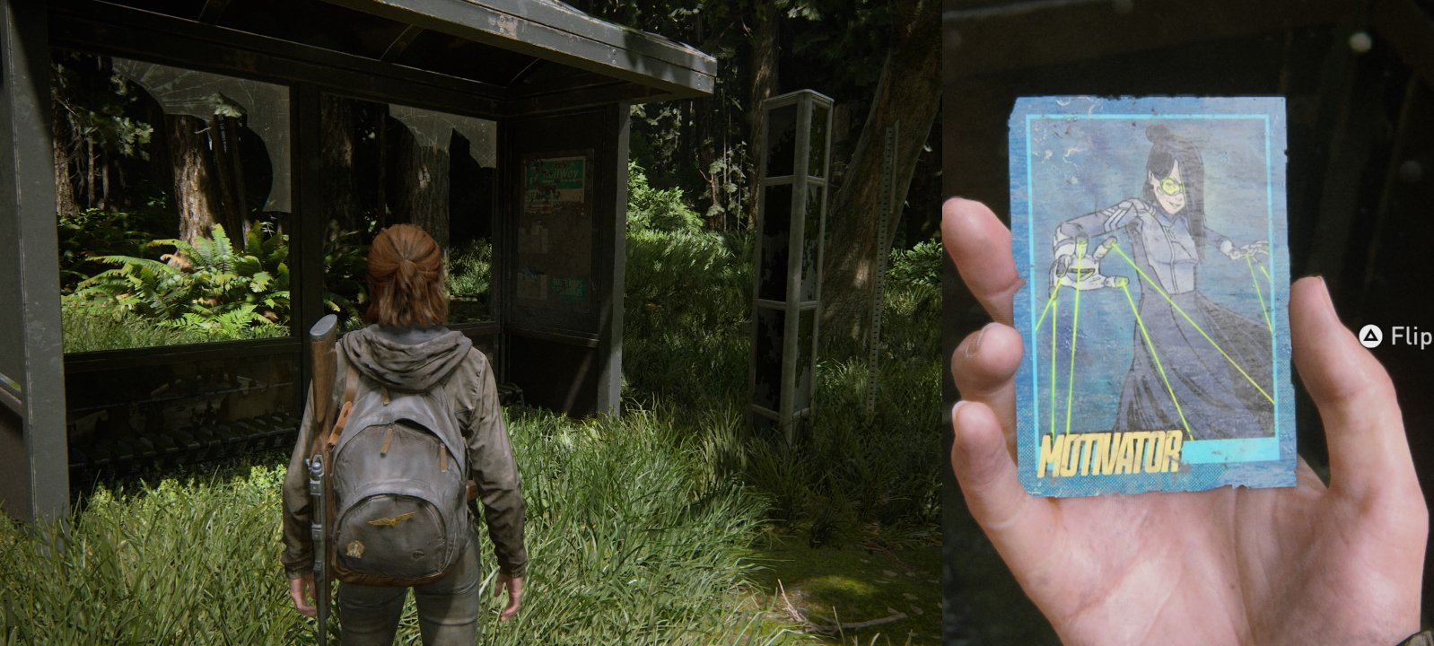 Trading card 5 location the last of us 2