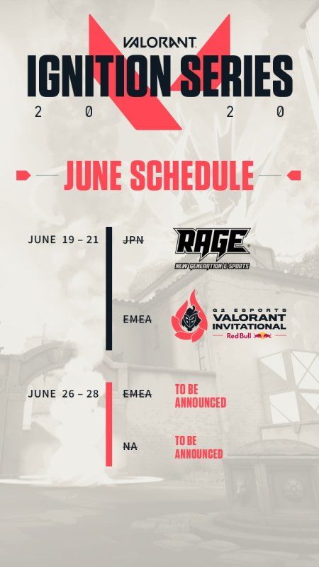 Valorant esports Ignition series upcoming events