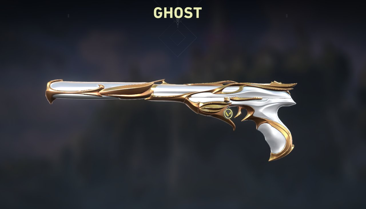 Valorant Sovereign Ghost skin
