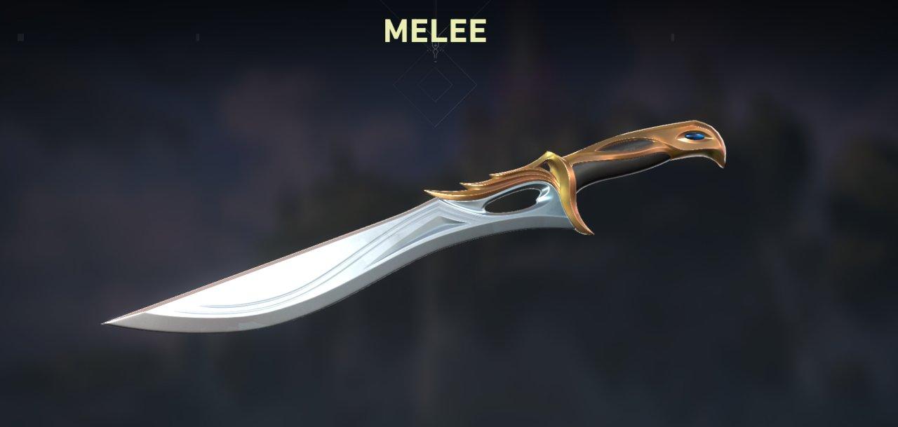 Valorant Sovereign skins knife
