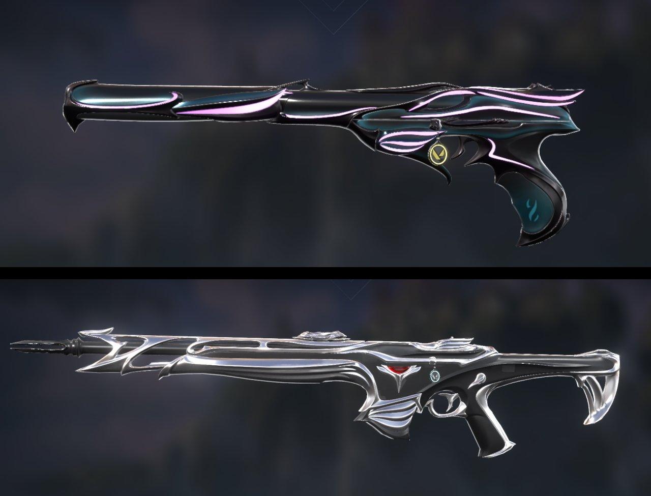 Valorant new knife sovereign skins upgrades