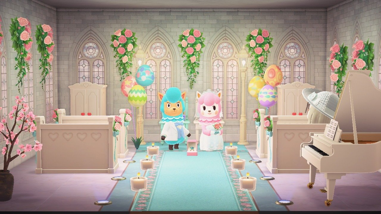 How many Wedding Day items are there in Animal Crossing: New Horizons