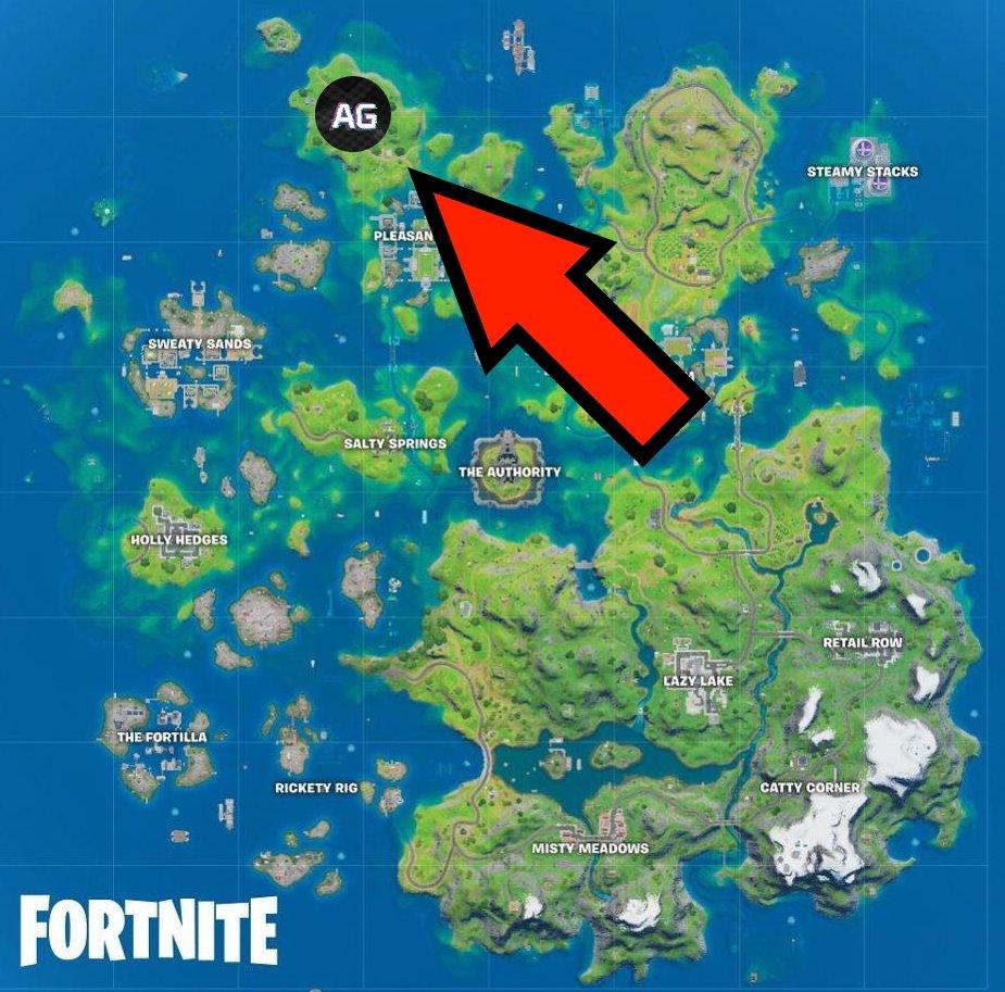 Where is homely hills in Fortnite Season 3