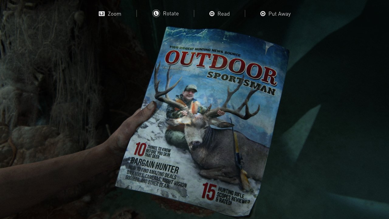 Where to find training manuals in the last of us part 2