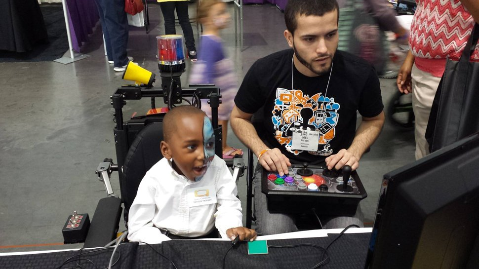 AbleGamers relies on events to raise awareness – and funds.