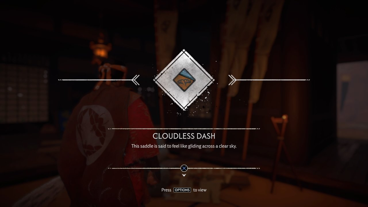 All Saddles in Ghost of Tsushima