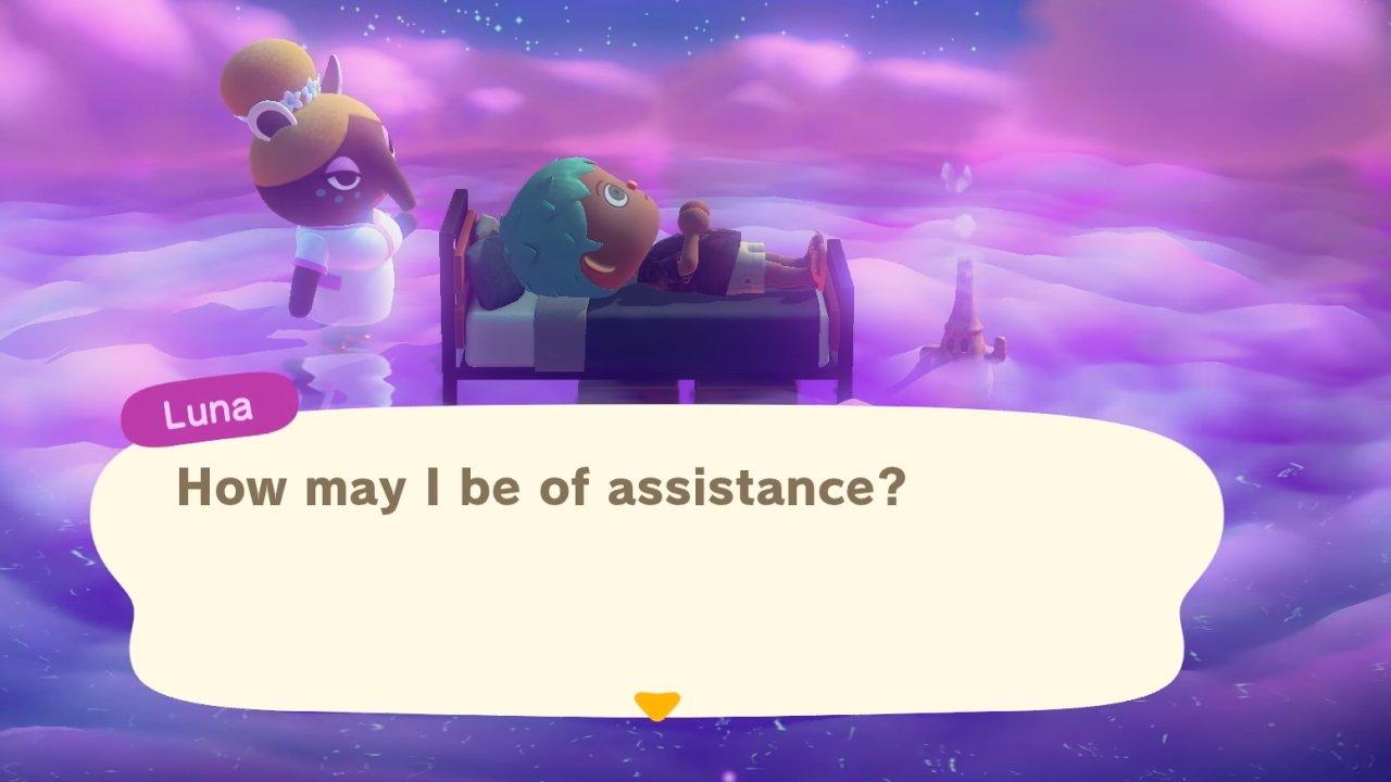 Animal Crossing: New Horizons Dream Suite