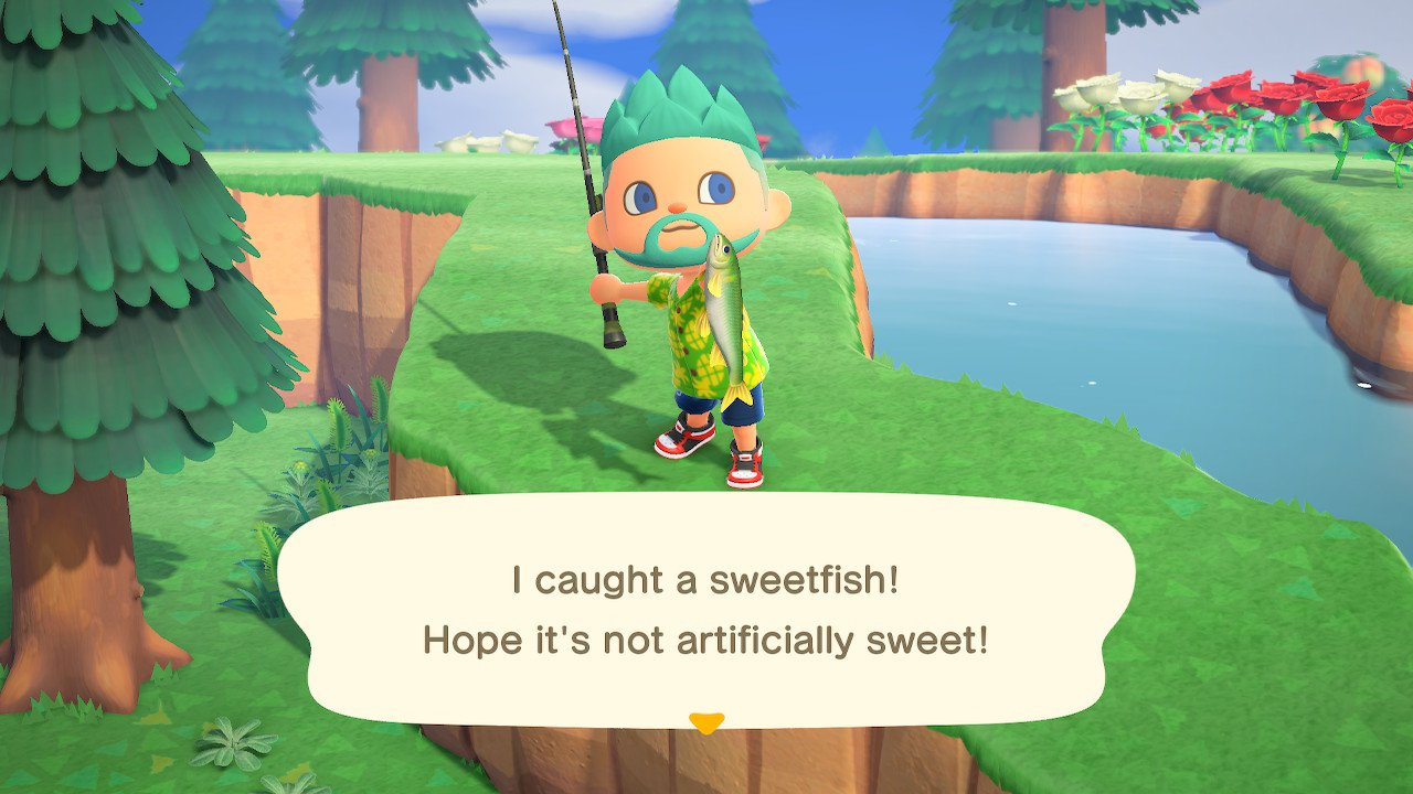 Animal crossing new horizons sweetfish guide