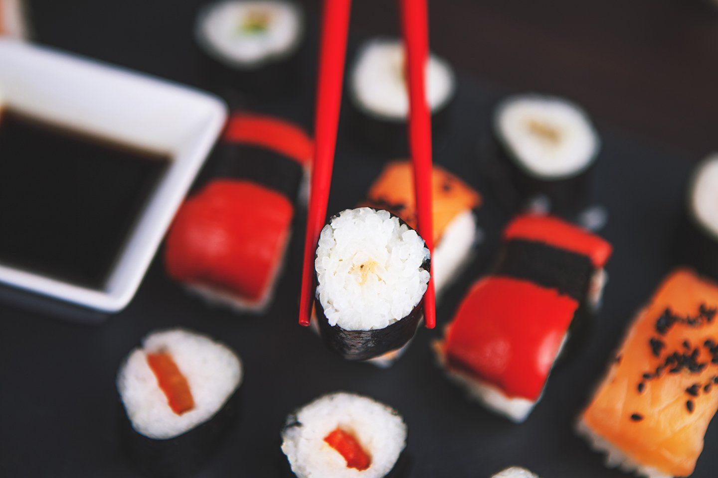 Sushi isn't that hard to make, plus you can just order some in. Easy. © Foodie Factor/Pexels
