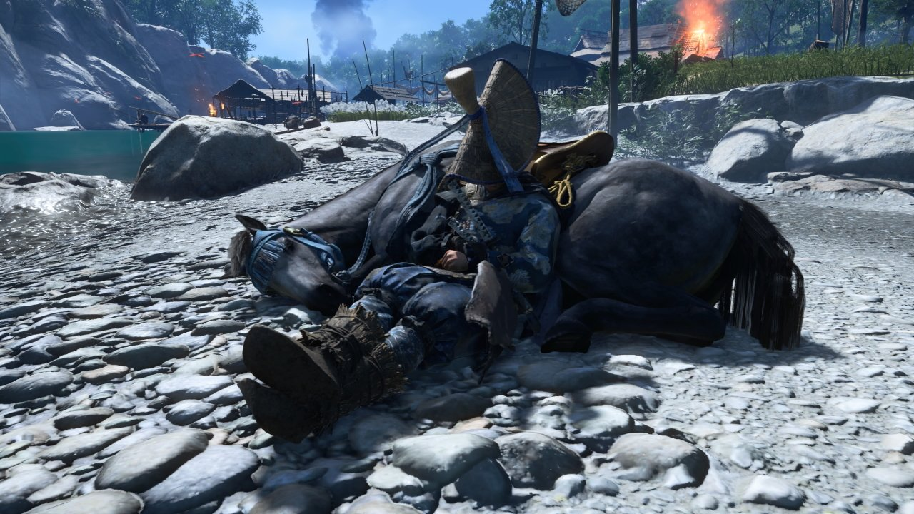 How to sleep next to your horse in Ghost of Tsushima