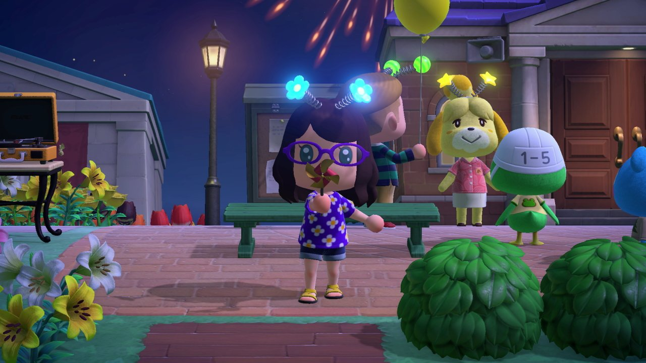 Isabelle bopper prize list fireworks show redds raffle animal crossing new horizons