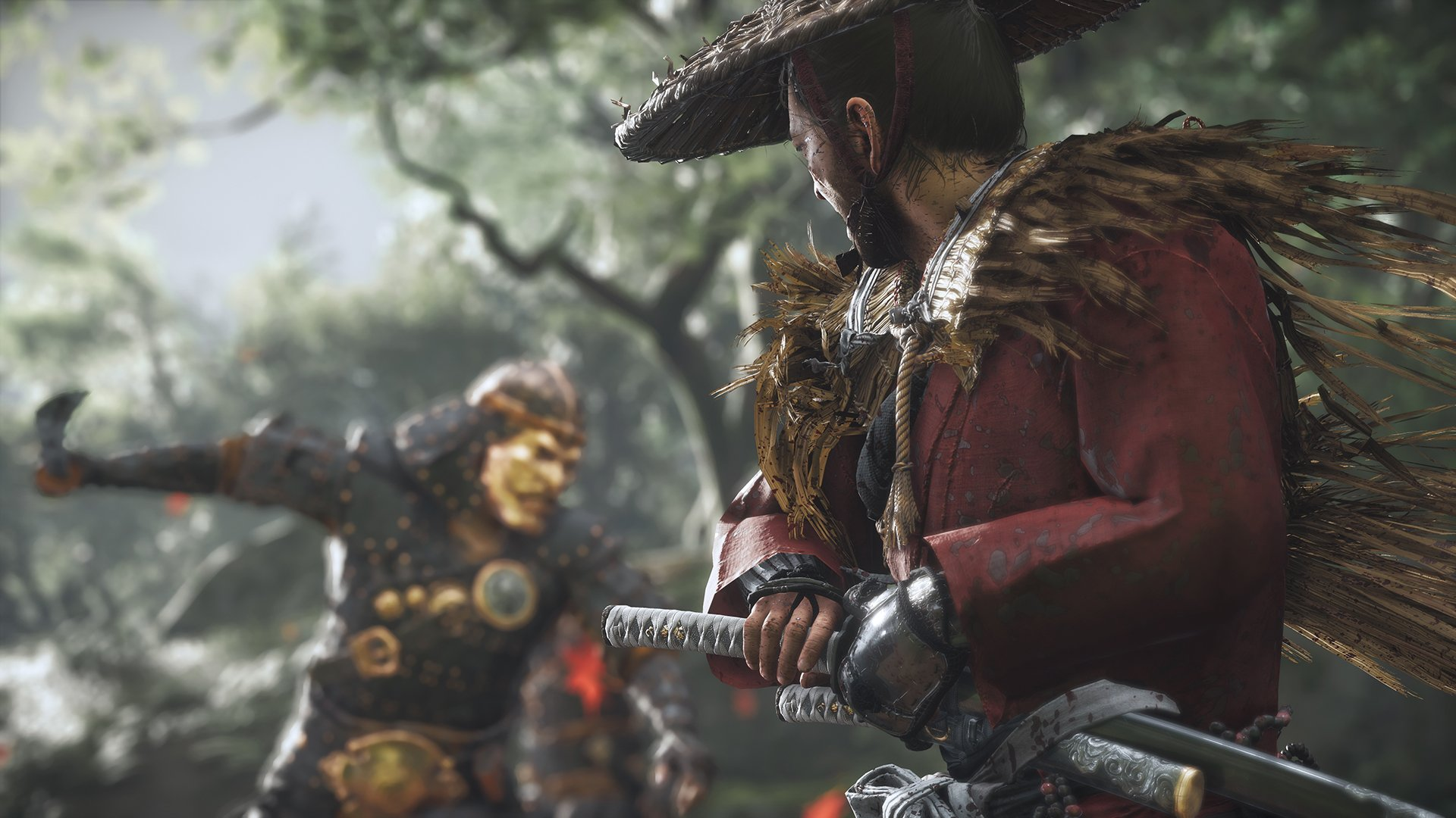 Can you lock on or target enemies in Ghost of Tsushima?