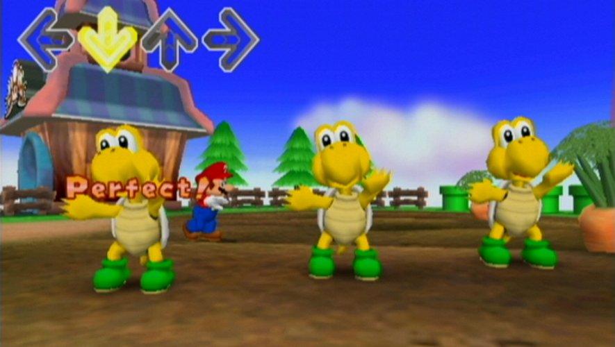 The worst mario games Mario DDR