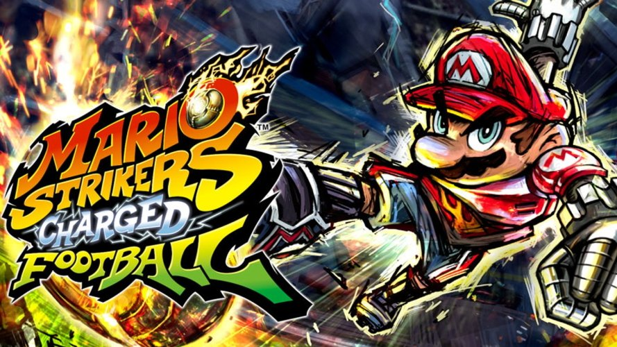 the best mario spin off games - Mario Strikers Charged