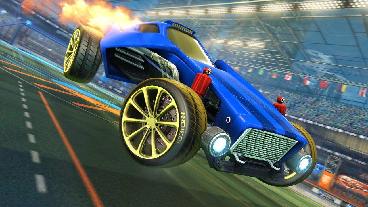 All of the cosmetics you've earned will come with you once Rocket League launches as a free-to-play title.