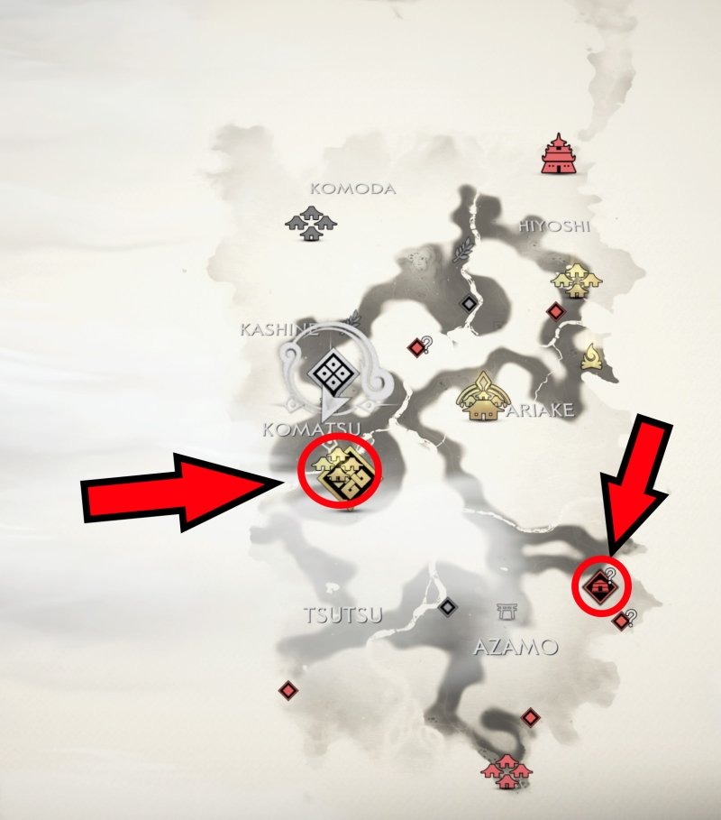 where to find iron in Ghost of Tsushima