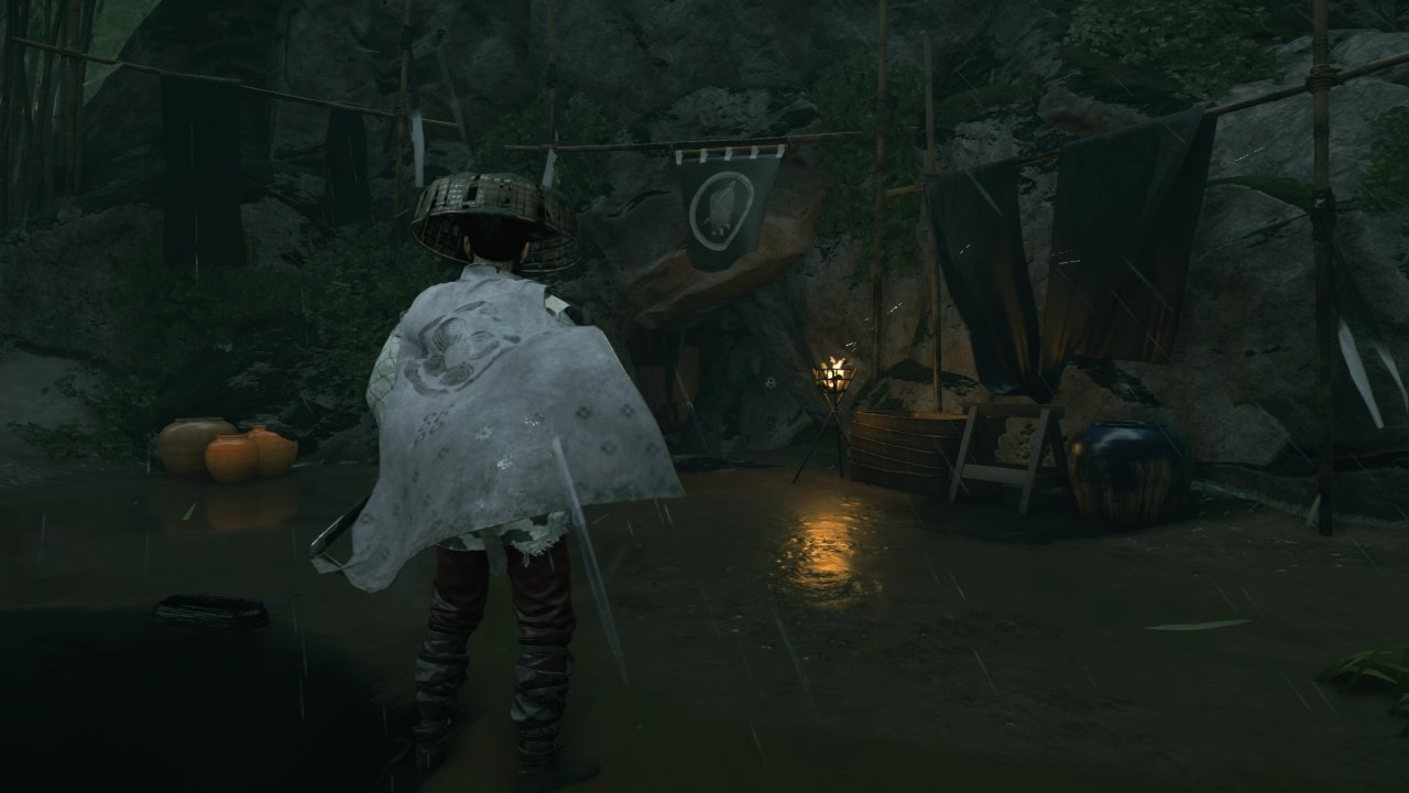 Where to find the black dye merchant in Ghost of Tsushima