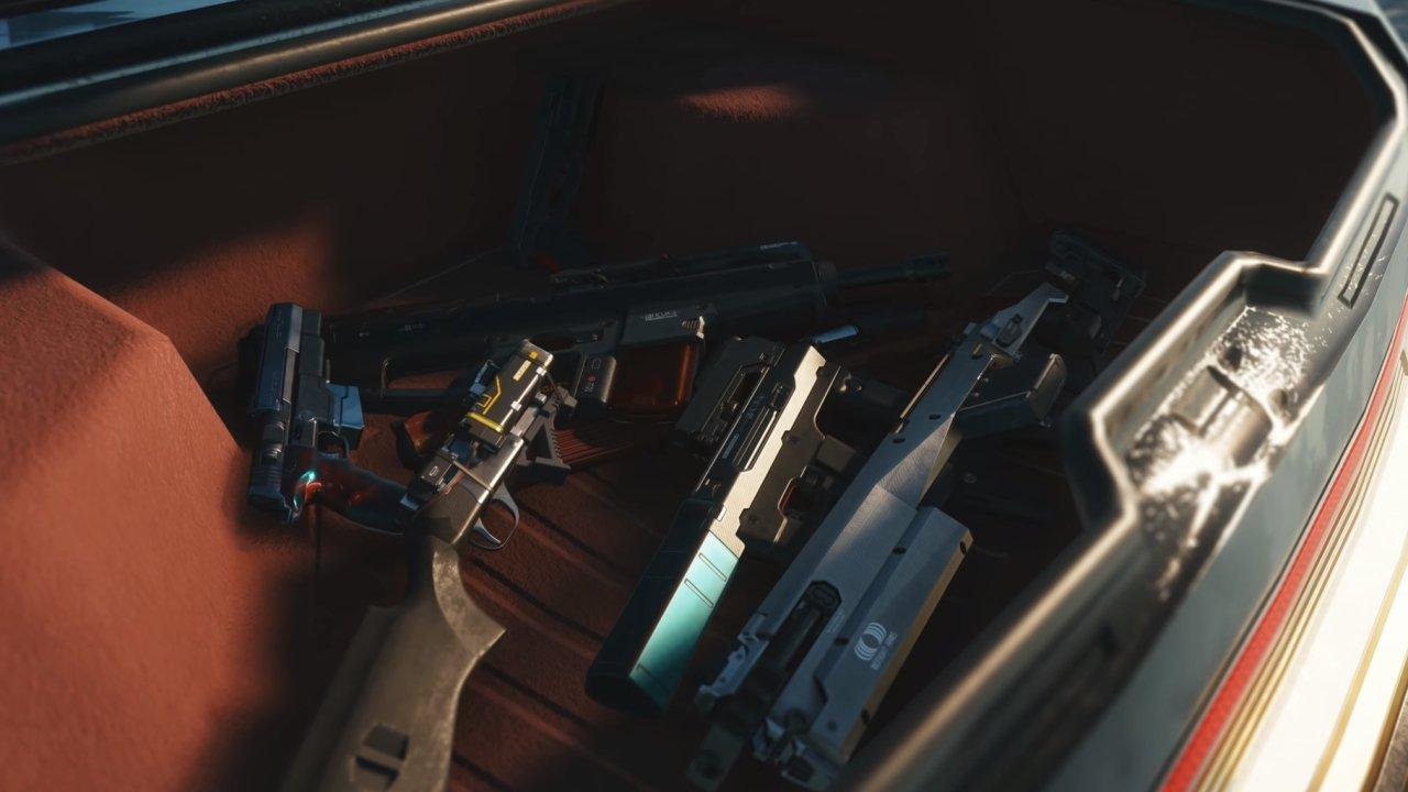 All Cyberpunk 2077 weapons shown so far