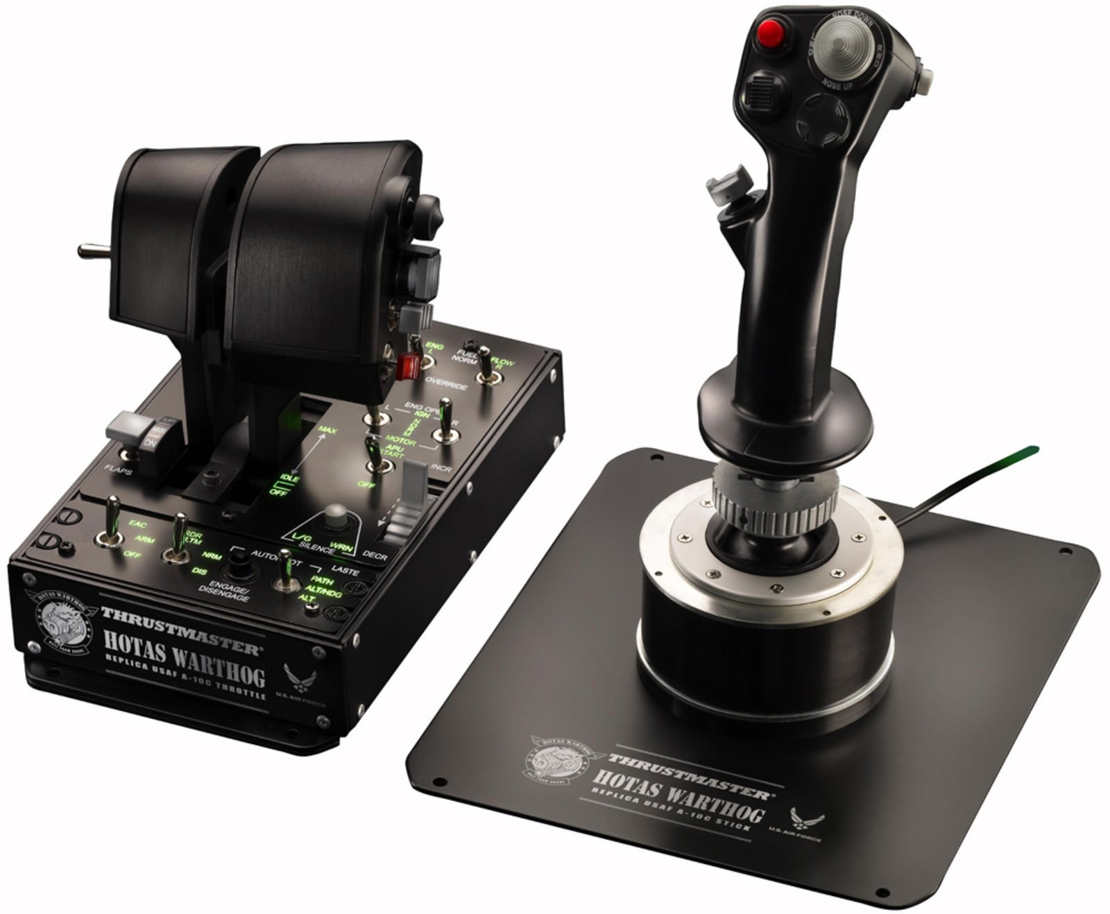 The best HOTAS for Flight Simulator 2020 is the Thrustmaster HOTAS Warthog