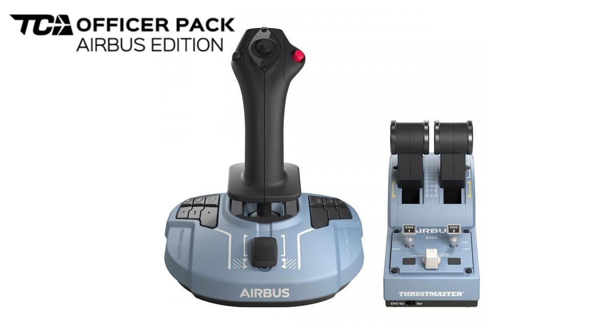 The best joystick for Flight Simulator 2020 (if you can wait a month) is the Thrustmaster TCA Sidestick Airbus Edition